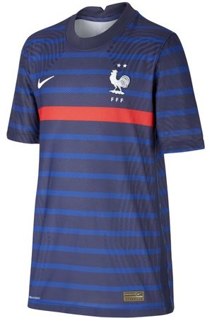 Nike FFF 2020 Vapor Match Home Older Kids' Football Shirt