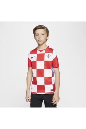 Nike Croatia 2020 Stadium Home Older Kids' Football Shirt
