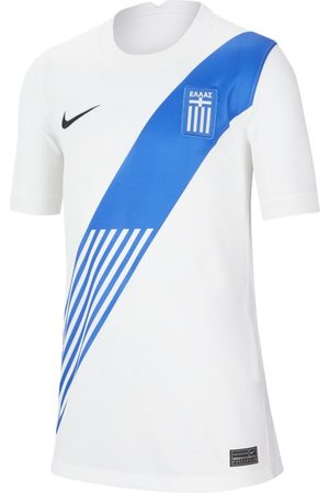 Nike Greece 2020 Stadium Home Older Kids' Football Shirt