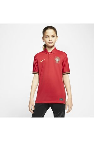 Nike Portugal 2020 Stadium Home Older Kids' Football Shirt