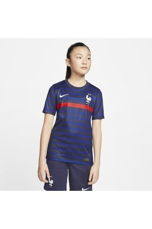 Nike FFF 2020 Stadium Home Older Kids' Football Shirt