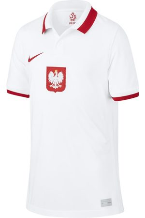 Nike Poland 2020 Stadium Home Older Kids' Football Shirt