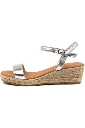Django & Juliette Shielay Dj Natural Sandals Womens Shoes Casual Heeled Sandals