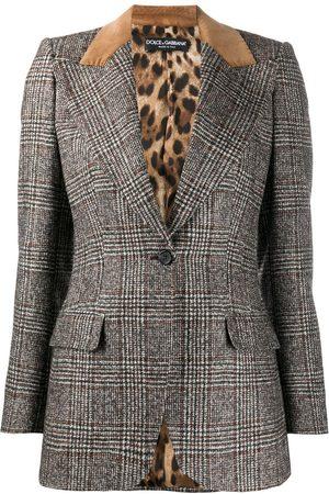 Dolce & Gabbana Prince of Wales check blazer