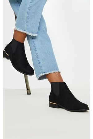 PRETTYLITTLETHING Wide Fit Chelsea Boot