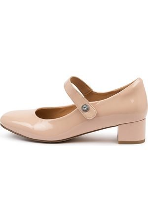 Ziera Kitty W Zr Nude Shoes Womens Shoes Casual Heeled Shoes