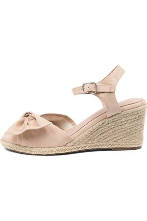 I LOVE BILLY Dubbo Il Nude Sandals Womens Shoes Casual Heeled Sandals