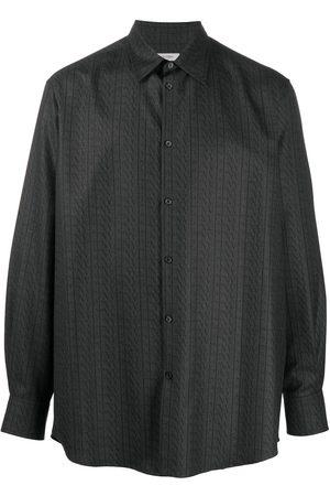 VALENTINO VLTN-print wool shirt