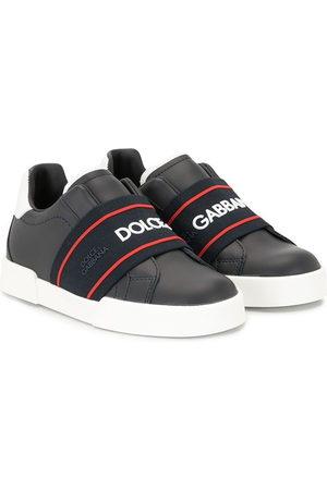 Dolce & Gabbana Logo strap sneakers