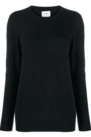 Barrie Roses round neck jumper