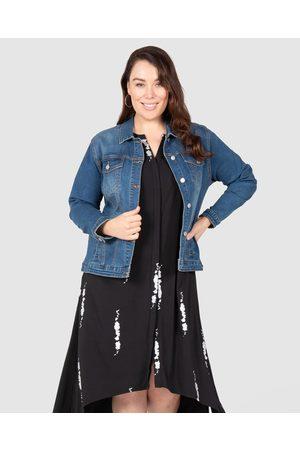 Love Your Wardrobe Frankie Stretch Denim Jacket - Denim jacket (Indigo) Frankie Stretch Denim Jacket