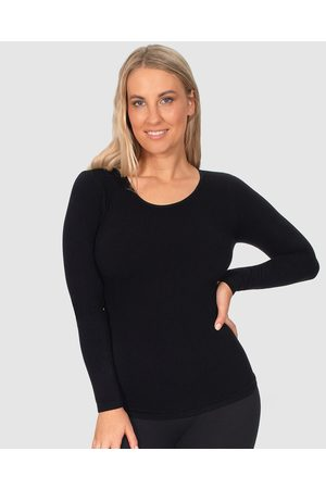 B Free Seamless Long Sleeve Thermal Top - Clothing Seamless Long Sleeve Thermal Top