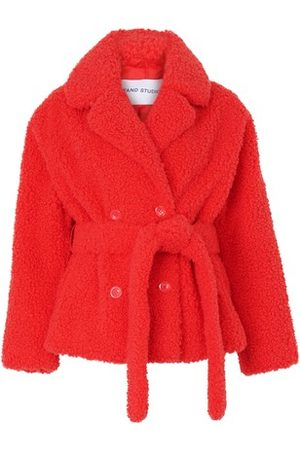 STAND Tiffany belted coat