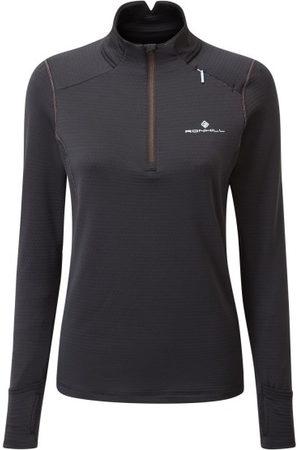 RonHill Tech Matrix 1/2 Zip Womens Thermal Jacket - /Hot