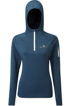 RonHill Life Workout Womens Training Hoodie - Legion Marl