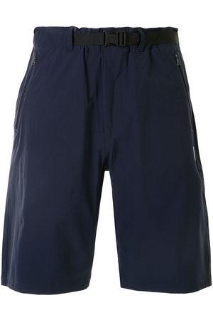 A Bathing Ape Men Bermudas - Logo patch knee-length shorts