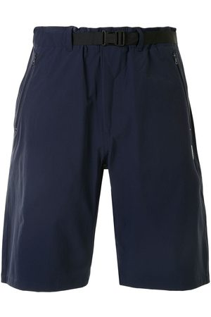 A BATHING APE® Logo patch knee-length shorts