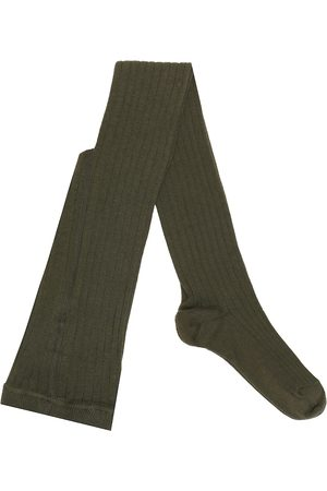Caramel Child Rib cotton-blend socks