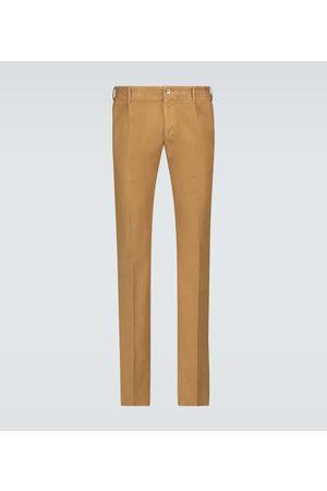 Incotex Single-pleated chino pants