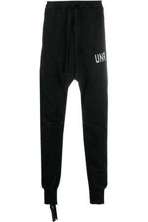 Unravel Project Drop-crotch track pants