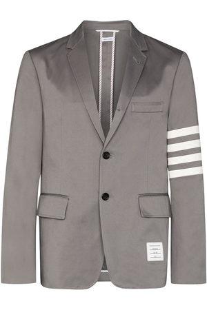 Thom Browne 4-bar stripe single-breasted blazer