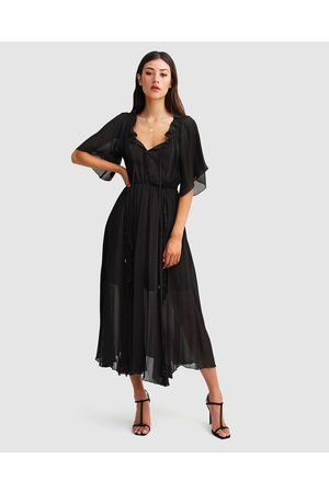 Belle & Bloom Amour Amour Ruffled Midi Dress - Dresses Amour Amour Ruffled Midi Dress