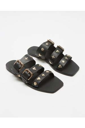 Sol Sana Women Sandals - Eastwood Slides - Sandals ( & ) Eastwood Slides