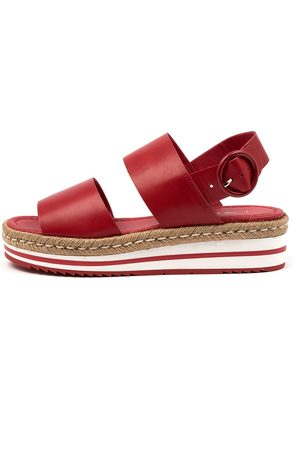 I LOVE BILLY Attica Il Cherry Sandals Womens Shoes Casual Sandals Flat Sandals