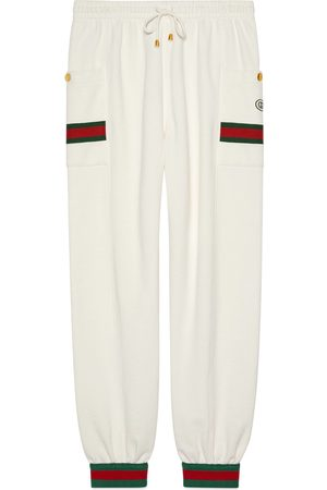 Gucci Men Pants - Jersey jogging pant with Web