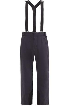 Moncler Dungaree-strap Snowboarding Trousers - Mens - Dark Navy
