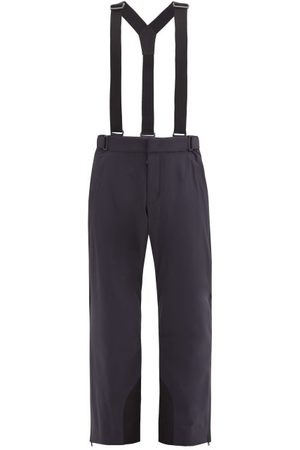 Moncler Men Sports Pants - Dungaree-strap Snowboarding Trousers - Mens - Dark Navy
