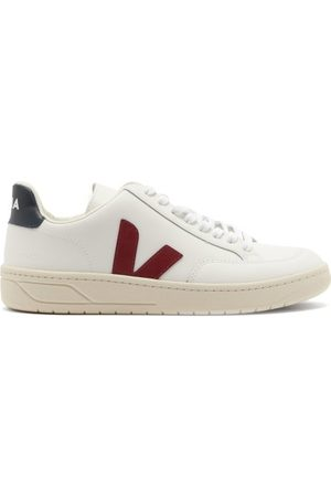 Veja V-12 Leather Trainers - Womens - Multi