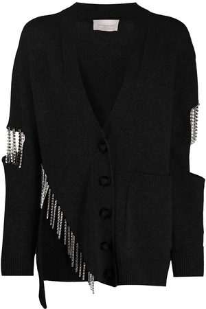 Christopher Kane Crystal cupchain cardigan