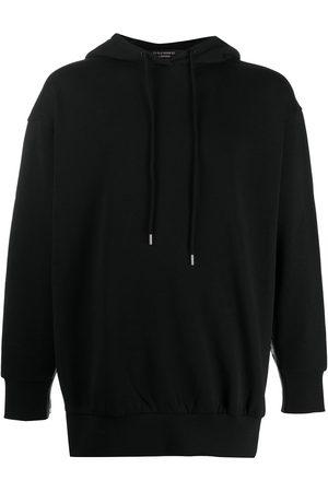 Stella McCartney Men Hoodies - Logo trim hoodie