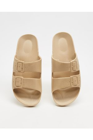 Freedom Moses Slides Unisex - Casual Shoes (Sands) Slides - Unisex