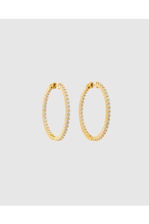 ALIX YANG Women Earrings - Leona Hoops - Jewellery Leona Hoops