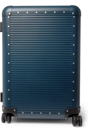 FPM Milano Men Suitcases - Spinner 68cm Leather-Trimmed Aluminium Suitcase