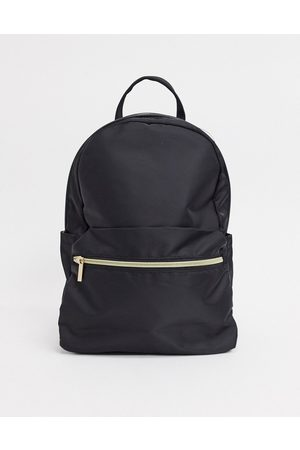 ASOS DESIGN Simple backpack with front pocket in