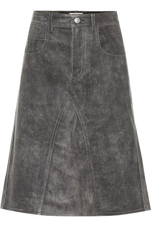 Isabel Marant, Étoile Fiali leather midi skirt