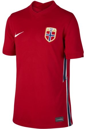 Nike Norway 2020 Stadium Home Older Kids' Football Shirt