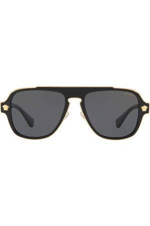 VERSACE Men Sunglasses - Aviator-frame sunglasses