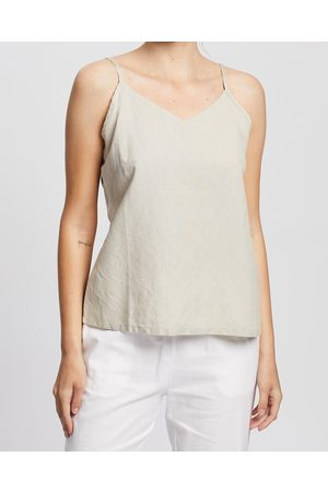 Kaja Clothing Women Tank Tops - Cleo Top - Tops (Natural) Cleo Top