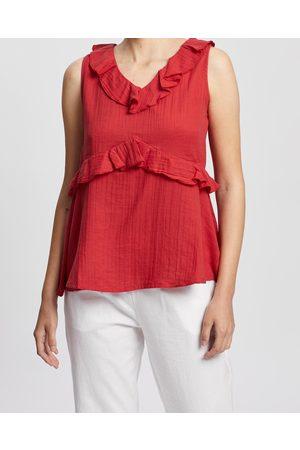 Kaja Clothing Women Tank Tops - Bree Top - Tops Bree Top