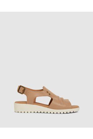 Easy Steps Women Flat Shoes - Gelato - Flats (CAMEL) Gelato
