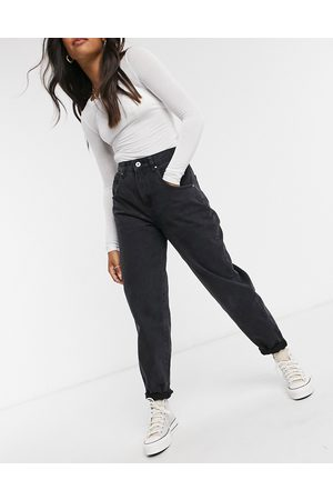 Cotton On Cotton: On slouch mom jean in black