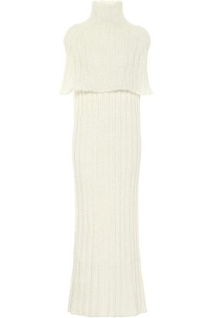 Jil Sander Ribbed-knit maxi dress