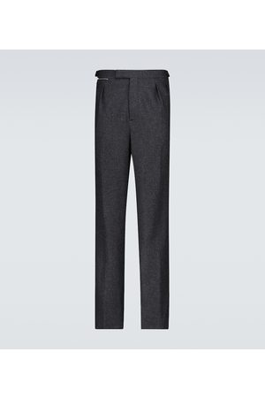RAF SIMONS Wide-fit pants with ankle zippers