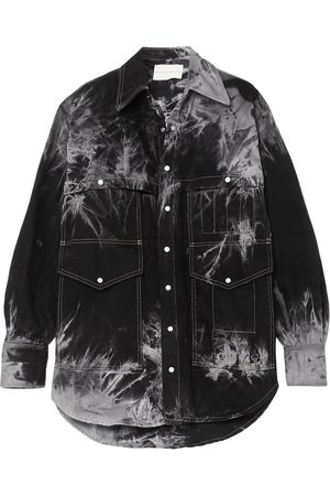 MATTHEW ADAMS DOLAN Denim shirts