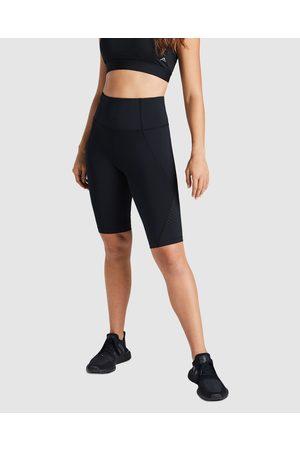 Rockwear Women Leggings - Rewind Perforated Bike Shorts - 1/2 Tights Rewind Perforated Bike Shorts