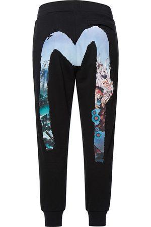 Evisu Taka-patterned Daicock Sweatpants